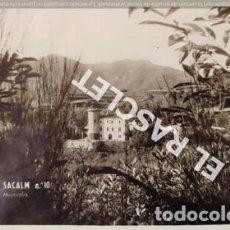 Postales: ANTIGÜA FOTO POSTAL DE SAN HILARIO SACALM Nº 10 CASTILLO MONSOLIS CIRCULADA. Lote 199219197