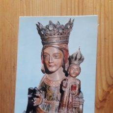 Postales: BERGA SANTA MARIA DE QUERALT MARE DE DÉU BERGUEDÀ VIRGEN. Lote 199380643