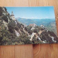 Postales: BERGA SANTUARI SANTA MARIA DE QUERALT BERGUEDÀ. Lote 199380703