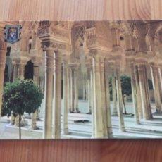 Postales: GRANADA ALHAMBRA COLUMNAS PATIO DE LOS LEONES POSTAL ZERKOWITZ. Lote 199380988