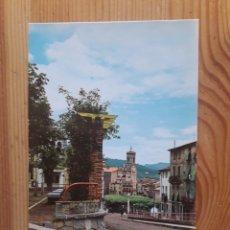 Postales: OLOT PERGOLA DEL ROSER GARROTXA. Lote 199383098