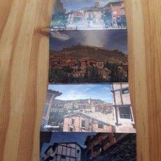 Postales: ALBARRACIN TERUEL ARAGON DESPLEGABLE DE 6 POSTALES. Lote 199386031
