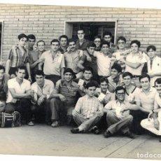 Postales: FOTO MOTORISTAS DEL CUARTEL GENERAL DIVISION N.1 -VALENCIA AÑO 1981. Lote 199652988