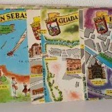 Postales: LOTE 50 POSTALES PROVINCIAS DE ESPAÑA *** AÑO 1964. Lote 200261655