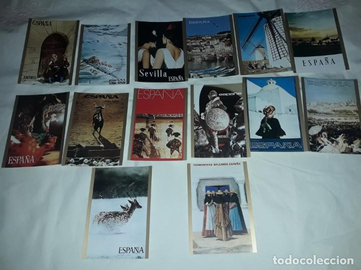 Postales: Bello lote 14 postales Carteles Turísticos España - Foto 2 - 201365127