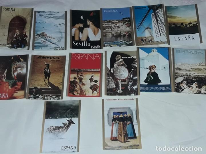 Postales: Bello lote 14 postales Carteles Turísticos España - Foto 18 - 201365127