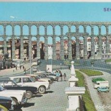 Cartes Postales: LOTE A-POSTAL SEGOVIA AÑOS 70 MATA SELLOS COCHES. Lote 202672088