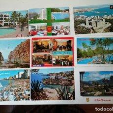 Postales: LOTE DE POSTALES DIVERSAS REGIONES ESPAÑOLAS. Lote 204608052
