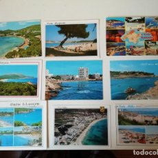 Postales: LOTE DE POSTALES DIVERSAS REGIONES ESPAÑOLAS. Lote 204608165