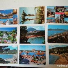 Postales: LOTE DE POSTALES DIVERSAS REGIONES ESPAÑOLAS. Lote 204608250