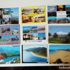 Postales: LOTE DE POSTALES DIVERSAS REGIONES ESPAÑOLAS. Lote 204608307