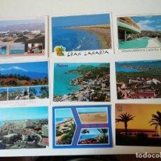 Postales: LOTE DE POSTALES DIVERSAS REGIONES ESPAÑOLAS. Lote 204608350