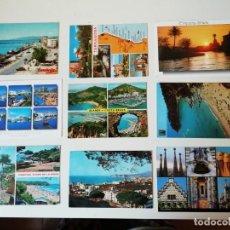 Postales: LOTE DE POSTALES DIVERSAS REGIONES ESPAÑOLAS. Lote 204608695