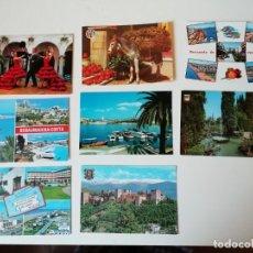 Postales: LOTE DE POSTALES DIVERSAS REGIONES ESPAÑOLAS. Lote 204608751