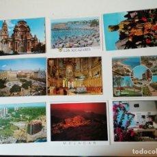 Postales: LOTE DE POSTALES DIVERSAS REGIONES ESPAÑOLAS. Lote 204608911