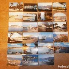 Postales: 23 POSTALES DE PLAYAS VARIADAS. Lote 204700411