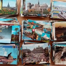 Postales: GRAN LOTE!! 500 POSTALES ANTIGUAS AÑOS 60/70/80. Lote 205163722
