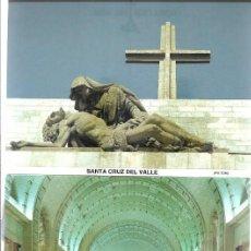 Postales: BLOC 9 POSTALES SANTA CRUZ VALLE LOS CAIDOS. Lote 205398901