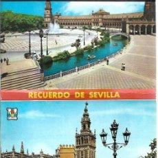Postales: SEVILLA - BLOC 12 POSTALES. Lote 205399603