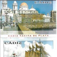 Postales: CADIZ - BLOC 10 POSTALES. Lote 205399997