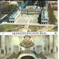 Postales: ARANJUEZ -BLOC DE 12 POSTALES - EDITA -PATRIMONIO NACIONA´L. Lote 205401843