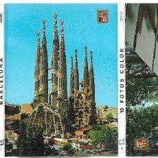 Postales: BARCELONA -BLOC DE 10 POSTALES -. Lote 205402350