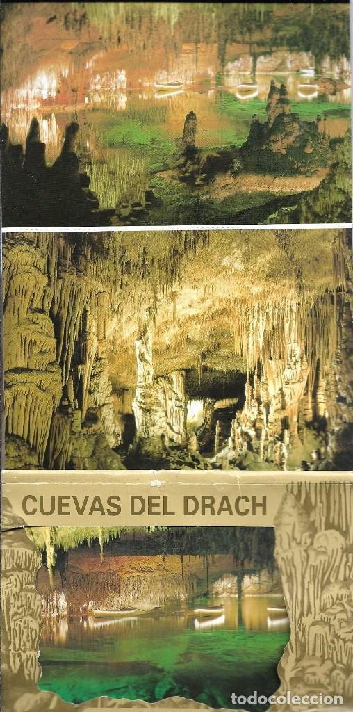 MALLORCA CUEVAS DEL DRACH -BLOC DE 10 POSTALES - (Postales - España - Sin Clasificar Moderna (desde 1.940))