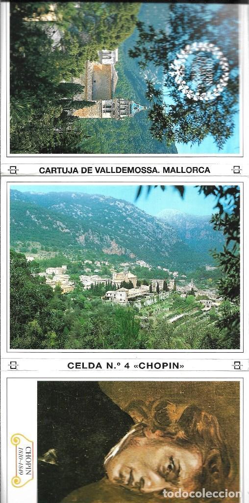 MALORCA CELDA 4 CHOPIN -BLOC DE 10 POSTALES - (Postales - España - Sin Clasificar Moderna (desde 1.940))