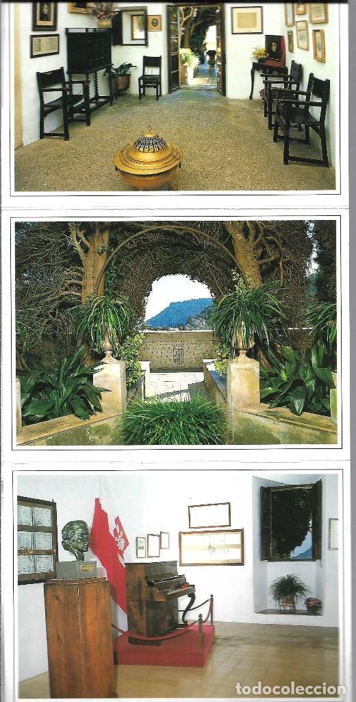Postales: MALORCA CELDA 4 CHOPIN -BLOC DE 10 POSTALES - - Foto 2 - 205406566