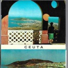 Postales: CEUTA -BLOC DE 9 POSTALES -. Lote 205407455
