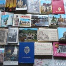 Postales: GRAN LOTE DE 46 MINITACOS DISTINTOS DE POSTALES.HAY ALGUNOS DISTNTOS. Lote 205684716