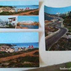 Postales: LOTE 3 POSTALES DE MENORCA. MAHON. Lote 205302390
