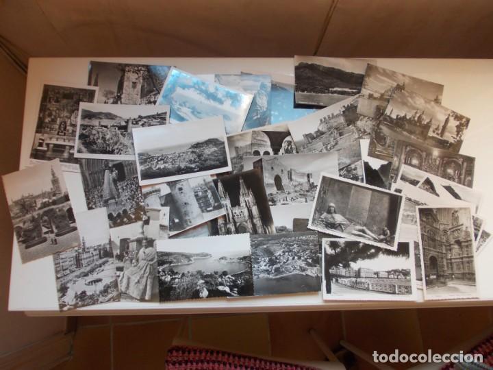 BONITO LOTE DE 41 POSTALES FOTOGRÁFICAS ORIGINALES ANÑOS 50 (Postales - España - Sin Clasificar Moderna (desde 1.940))