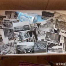 Postales: BONITO LOTE DE 41 POSTALES FOTOGRÁFICAS ORIGINALES ANÑOS 50. Lote 206433916