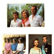 Postales: POSTALES DE LA FAMILIA REAL ESPAÑOLA STANLEY GIBBONS LIMITED DE LONDRES (SERIE DE 6). Lote 207235125