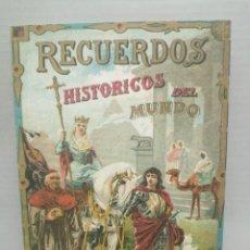 Postales: POSTAL RECUERDOS HISTÓRICOS DEL MUNDO CAJA VITAL KUTXA. Lote 208115010