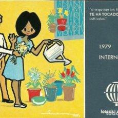 Postales: 7 TARJETAS POSTALES DEL 1979 AÑO INTERNACIONAL DEL NIÑO LOTERIA NACIONAL. Lote 208971883