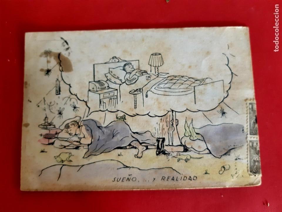 POSTAL EROTICA-1947-CIRCULADA CON SELLOS (Postales - España - Sin Clasificar Moderna (desde 1.940))