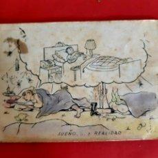Postales: POSTAL EROTICA-1947-CIRCULADA CON SELLOS. Lote 210355886
