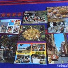 Postales: BAR LA VUELTA, MALLORCA TÍPICA, ESTEPONA, PAELLA, BALLET FOLKLÓRICO GALICIA, ORENSE, ELCHE ANDALUCÍA. Lote 210650824