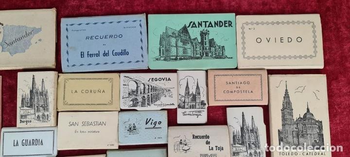 Postales: COLECCION DE 24 POSTALES DESPLEGABLES. MONUMENTOS DE ESPAÑA. SIGLO XX. - Foto 5 - 210727070