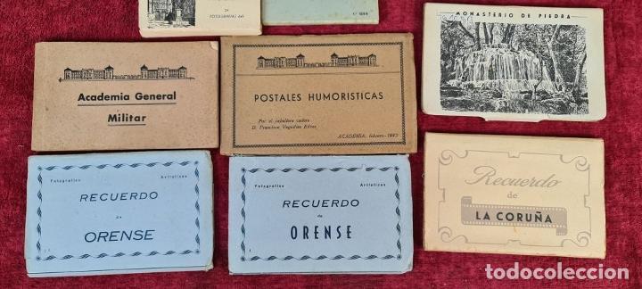 Postales: COLECCION DE 24 POSTALES DESPLEGABLES. MONUMENTOS DE ESPAÑA. SIGLO XX. - Foto 6 - 210727070