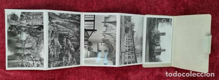 Postales: COLECCION DE 24 POSTALES DESPLEGABLES. MONUMENTOS DE ESPAÑA. SIGLO XX. - Foto 7 - 210727070