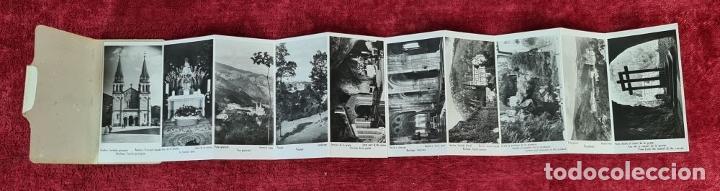 Postales: COLECCION DE 24 POSTALES DESPLEGABLES. MONUMENTOS DE ESPAÑA. SIGLO XX. - Foto 8 - 210727070