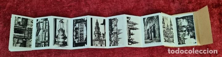 Postales: COLECCION DE 24 POSTALES DESPLEGABLES. MONUMENTOS DE ESPAÑA. SIGLO XX. - Foto 9 - 210727070