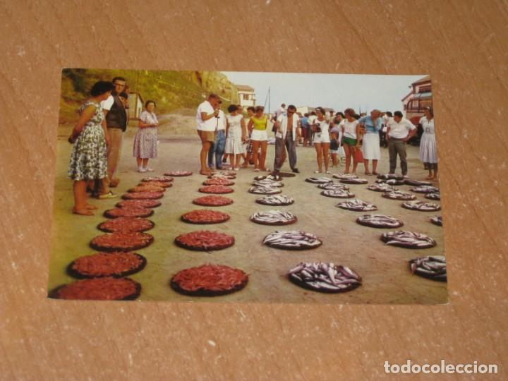 POSTAL DE SUBASTA DE PESCADO (Postales - España - Sin Clasificar Moderna (desde 1.940))