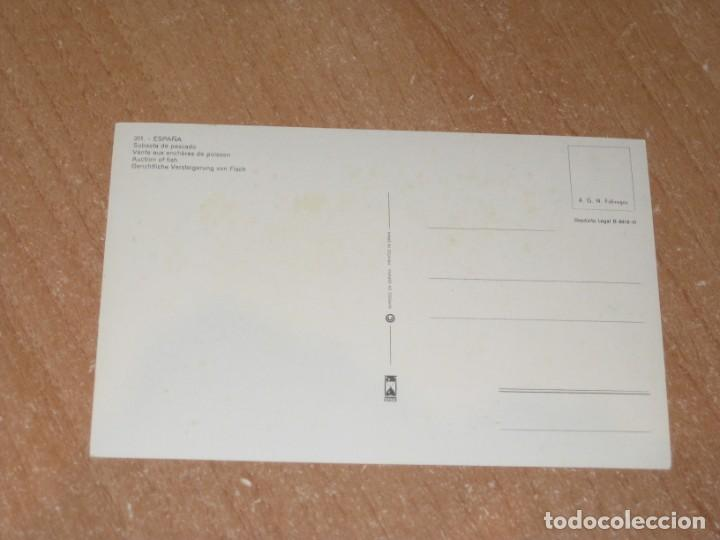 Postales: POSTAL DE SUBASTA DE PESCADO - Foto 2 - 211259732