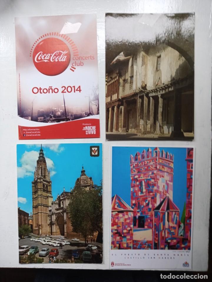 POSTALES 4 UNIDADES (Postales - España - Sin Clasificar Moderna (desde 1.940))