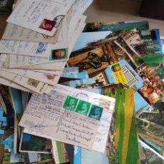 Postales: 347 POSTALES SOBRE AÑOS 50-70 USADAS LEER DESCRIPCION. Lote 213761375