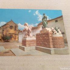 Postales: MONUMENTO A MANOLETE 1963. SIN CIRCULAR. Lote 214153237